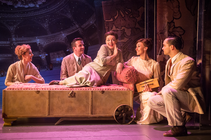 Funny Girl 2016 London, Rebecca Fennelly, Stuart Ramsay, Sheridan Smith, Kelly Homewood, Matthew Croke