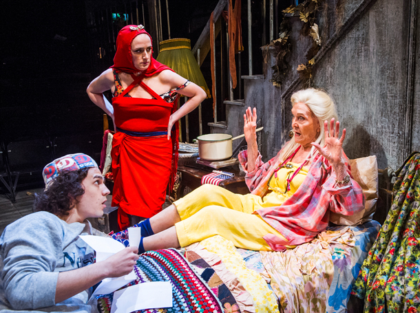 Grey Gardens 2016 Southwark Playhouse, Aaron Sidwell, Jenna Russell, Sheila Hancock,