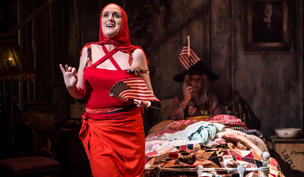 Grey Gardens 2016 Southwark Playhouse, Jenna Russell and Sheila Hancock