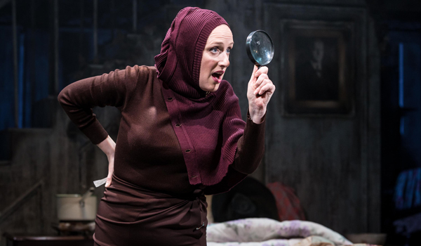 Grey Gardens 2016 Southwark Playhouse, Jenna Russell as Little Edie