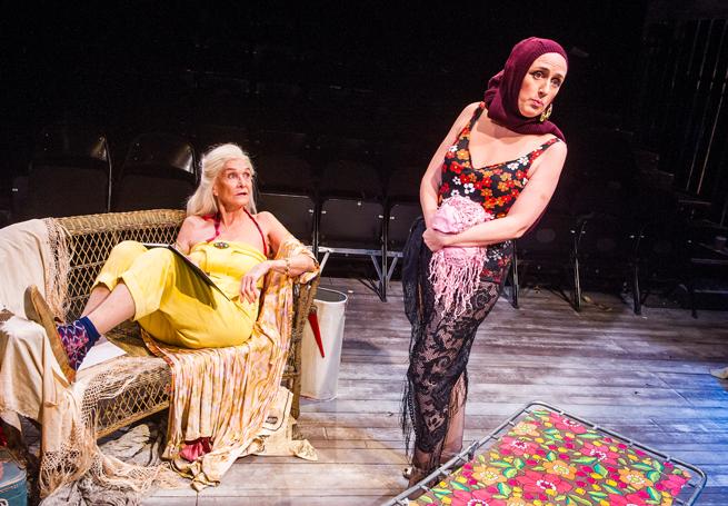 Grey Gardens 2016 Southwark Playhouse, Sheila Hancock, Jenna Russell