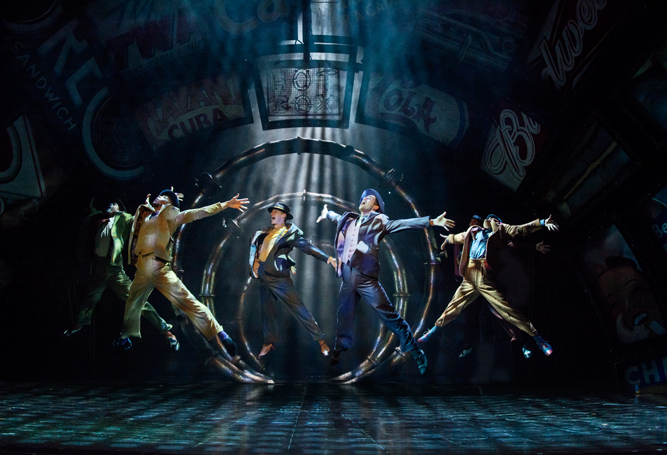 Guys and Dolls 2016 London, Crapshooters Ballet