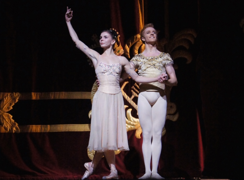 Rhapsody 2016 The Royal Ballet, Natalie Osipova, Steven McRae, curtain call