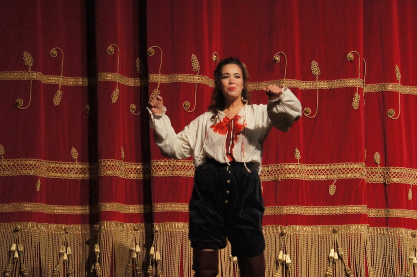 Rigoletto 2016 La Scala, Nadine Sierra as Gilda