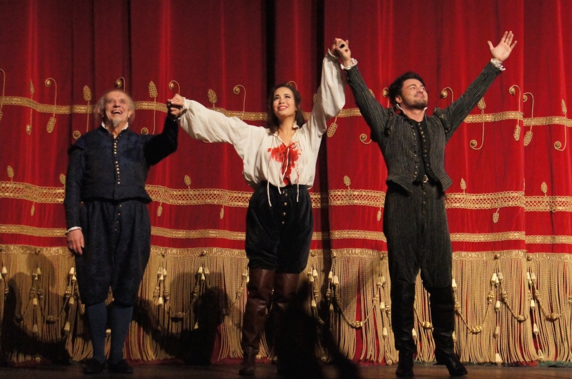 Rigoletto 2016 La Scala, Nucci, Sierra and Grigolo