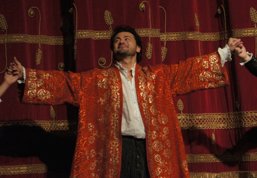 Rigoletto 2016 La Scala, Vittorio Grigolo as The Duke