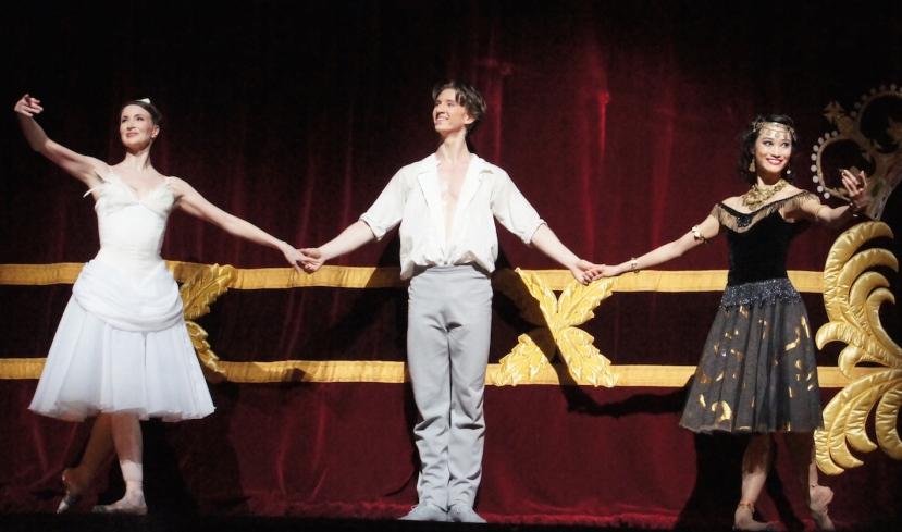 Two Pigeons 2016 The Royal Ballet, Lauren Cuthbertson, Vadim Muntagirov, Fumi Kaneko