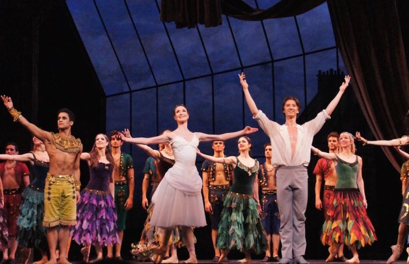 Two Pigeons 2016 The Royal Ballet Marcelino Sambe, Lauren Cuthbertson and Vadim Muntagirov