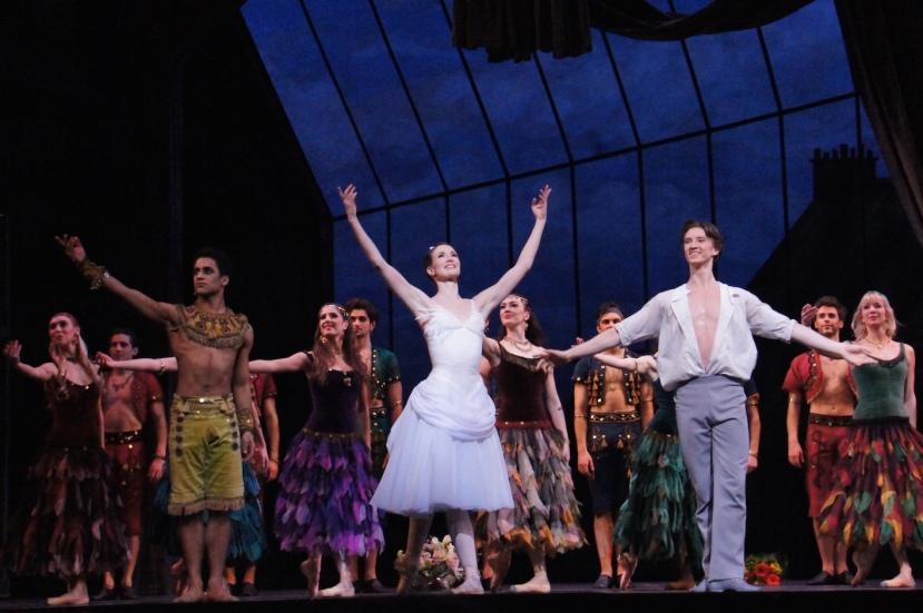 Two Pigeons 2016 The Royal Ballet Marcelino Sambe, Lauren Cuthbertson, Vadim Muntagirov