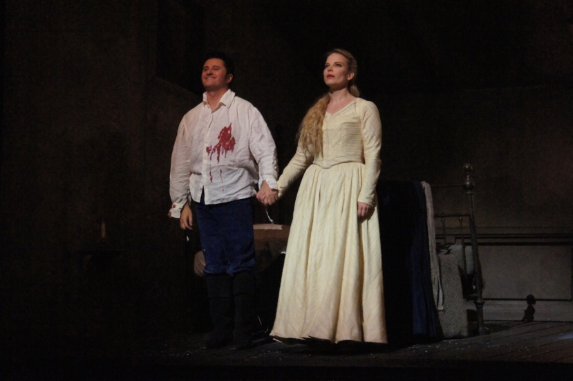 Werther 2016 Opera de Paris, Piotr Beczala and Elina Garanca