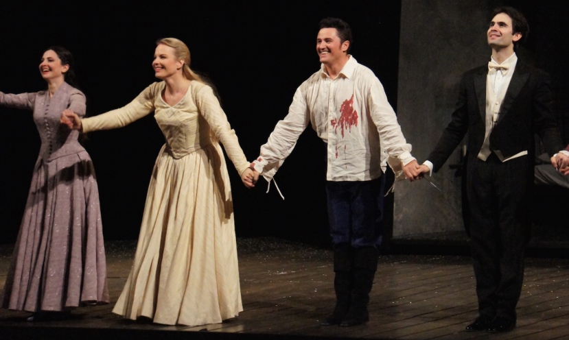 Werther 2016 Opera de Paris, Tsallagova, Garanca, Beczala, Sagripanti