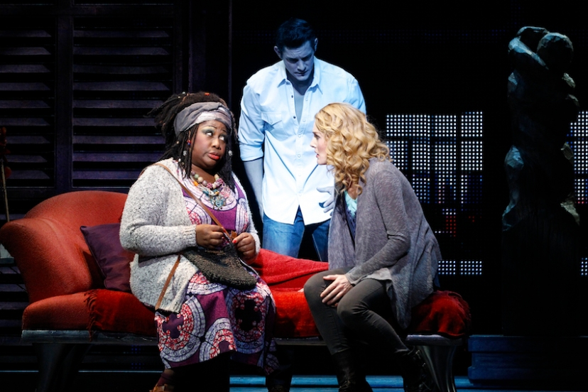 Ghost the musical 2016 Australia, Wendy Mae Brown, Rob Mills, Jemma Rix