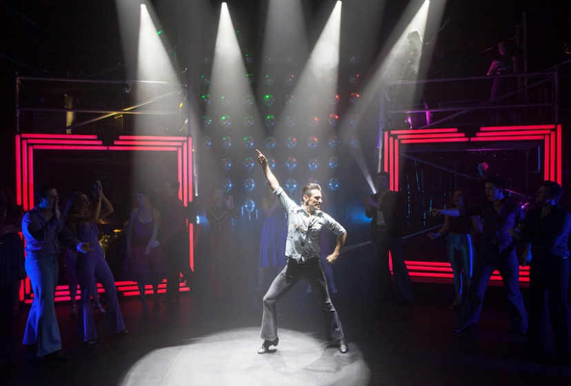 Saturday Night Fever 2016 StageArt, Mike Snell is Tony Manero