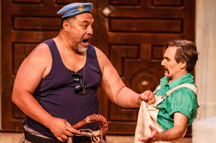 The Abduction from the Seraglio, Melbourne Opera, Eddie Muliaumaseali'i as Osmin