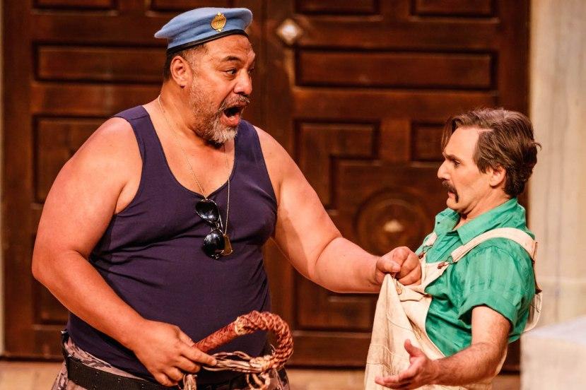 The Abduction from the Seraglio, Melbourne Opera, Eddie Muliaumaseali'i as Osmin