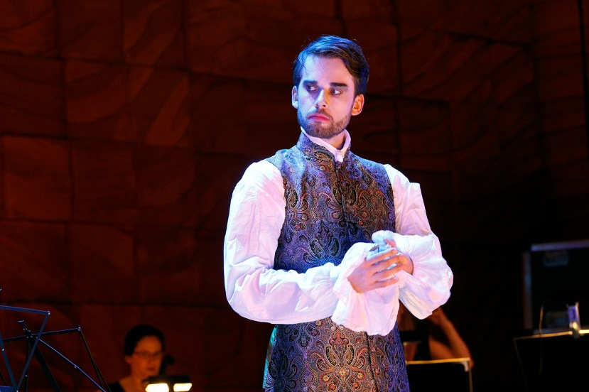 Voyage to the Moon 2016 Victorian Opera, Jeremy Kleeman
