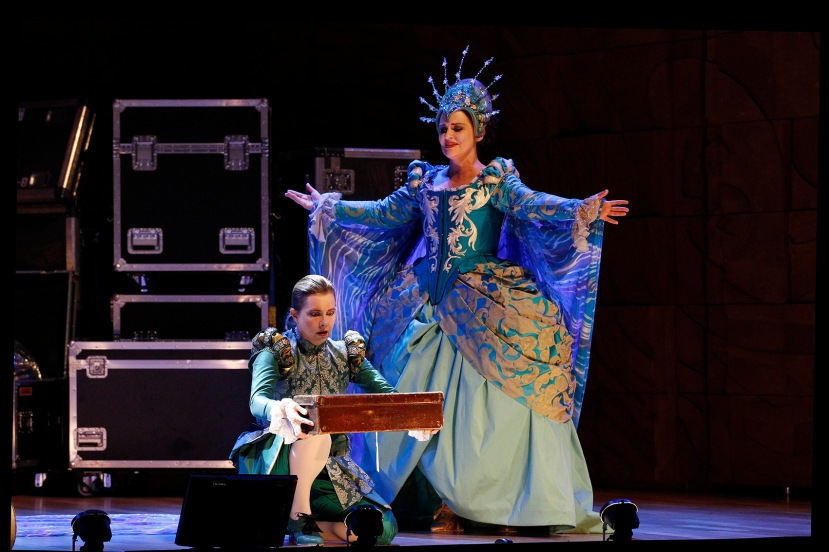 Voyage to the Moon 2016 Victorian Opera, Sally-Anne Russell and Emma Matthews