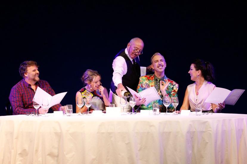 Banquet of Secrets 2016 Victorian Opera, David Rogers-Smith, Dimity Shepherd, Michael Carman, Kanen Breen, Antoinette Halloran