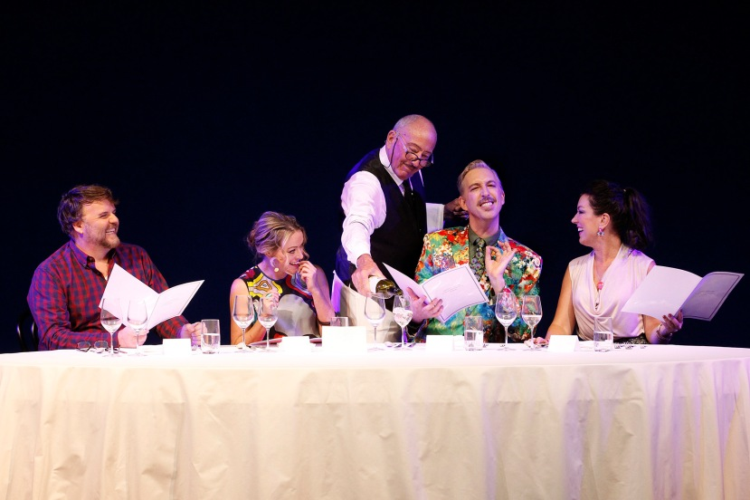 Banquet of Secrets 2016 Victorian Opera, David Rogers-Smith, Dimity Shepherd, Michael Carman, Kanen Breen, Antoinette Halloran