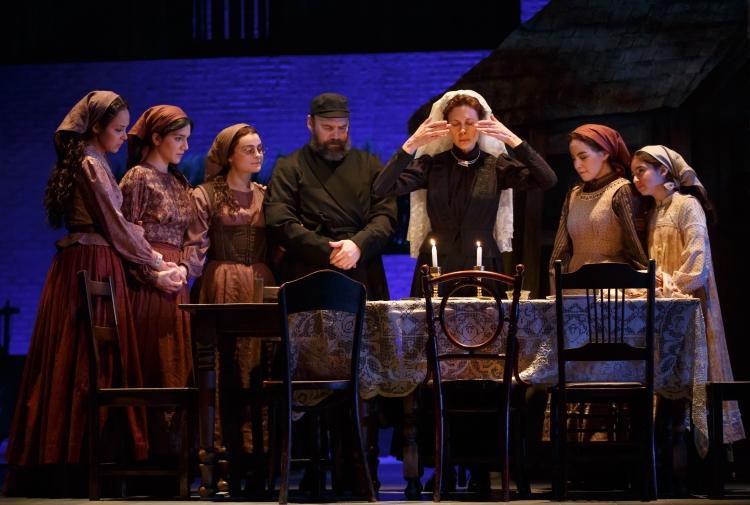 Fiddler on the Roof, Broadway, Sabbath Prayer