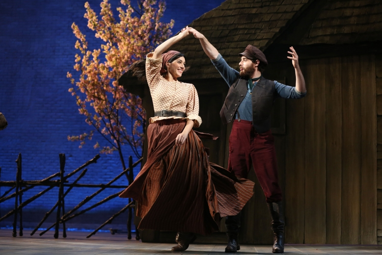 Fiddler on the Roof, Broadway, Samantha Massell, Ben Rappaport