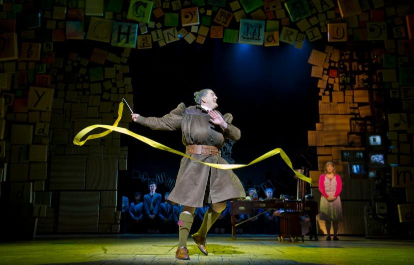 Matilda 2016 Melbourne, James Millar as MISS TRUNCHBULL
