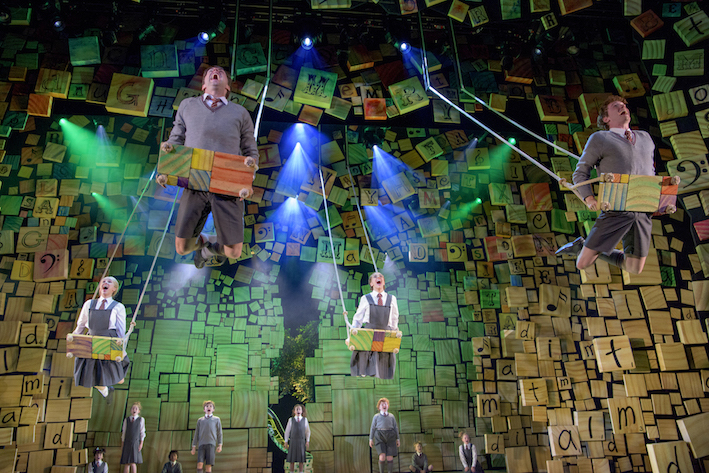 Matilda 2016 Melbourne, SWINGS, When I Grow Up