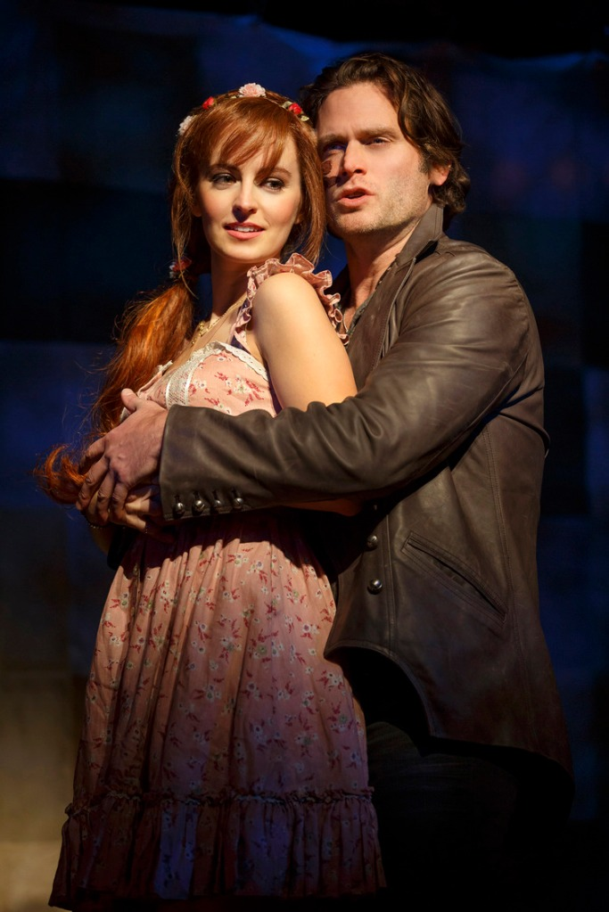 The Robber Bridegroom 2016 Roundabout, Ahna O'Reilly and Steven Pasquale
