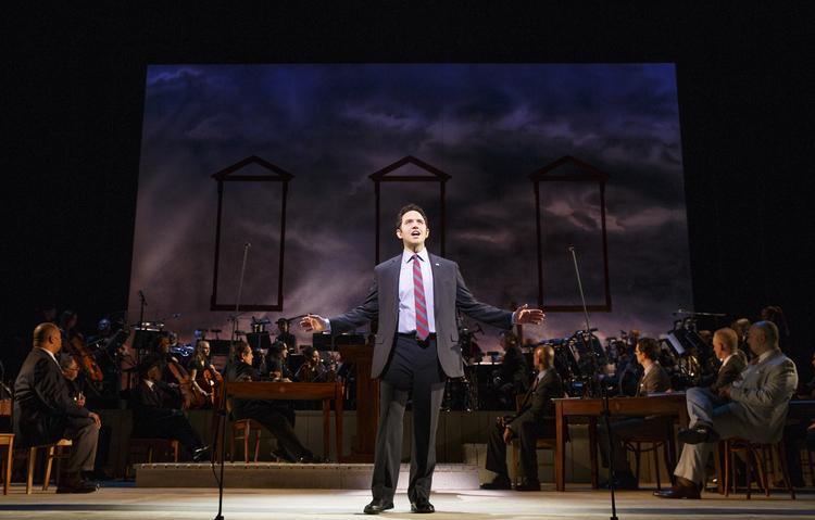 1776, City Center Encores, Santino Fontana as John Adams