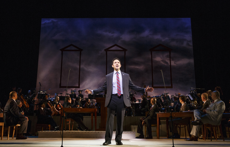 1776, City Center Encores, Santino Fontana as John Adams