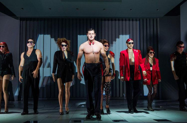 American Psycho, Broadway, Benjamin Walker, company