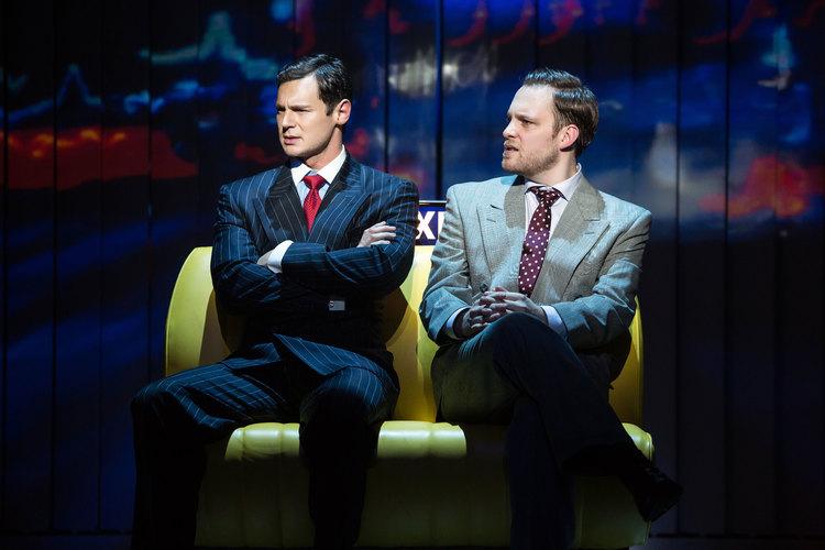 American Psycho, Broadway, Benjamin Walker, Theo Stockman