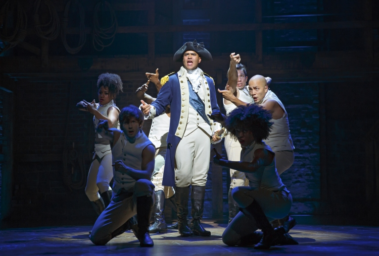 Hamilton, Broadway, Christopher Jackson as George Washington