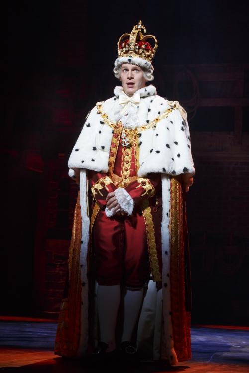 Hamilton, Broadway, Jonathan Groff