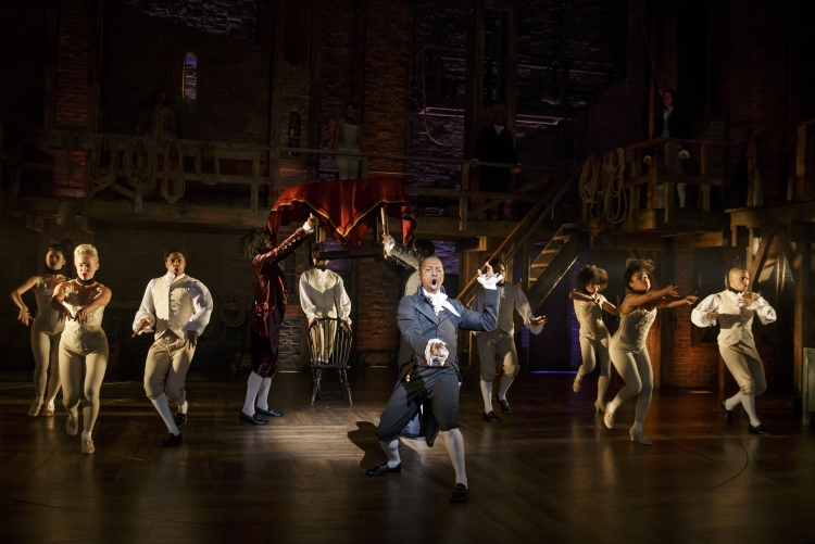Hamilton, Broadway, Leslie Odom, Jr