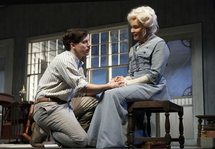Long Day's Journey into Night 2016 Roundabout, John Gallagher Jr, Jessica Lange