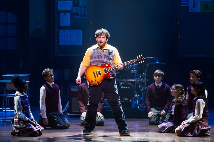 School of Rock the musical, alex_brightman_and_the_kids