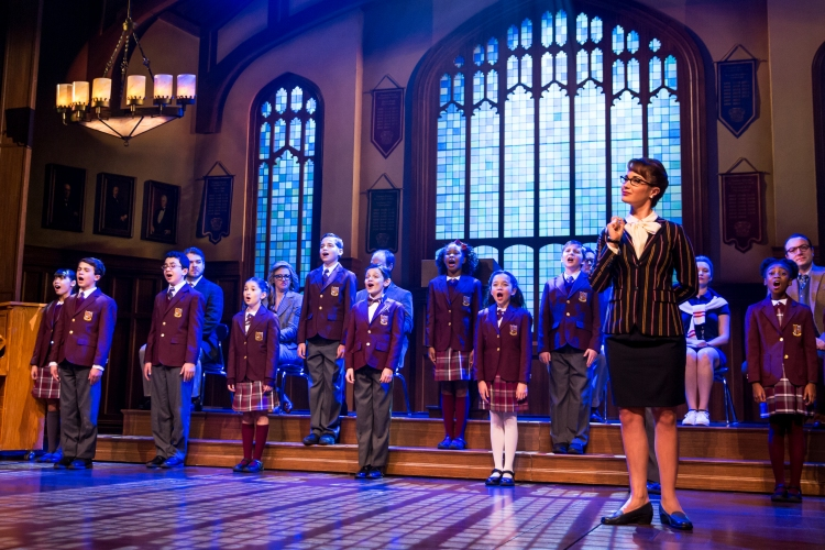 School of Rock the musical, sierra_boggess_and_the_kids_ensemble