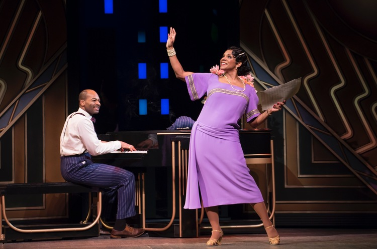 Shuffle Along, Broadway, Brandon Victor Dixon, Audra McDonald