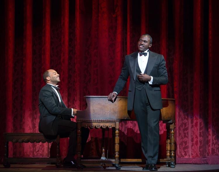 Shuffle Along, Broadway, Brandon Victor Dixon, Joshua Henry