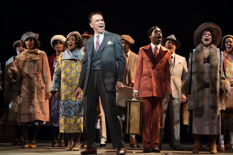 Shuffle Along, Broadway, Brian Stokes Mitchell