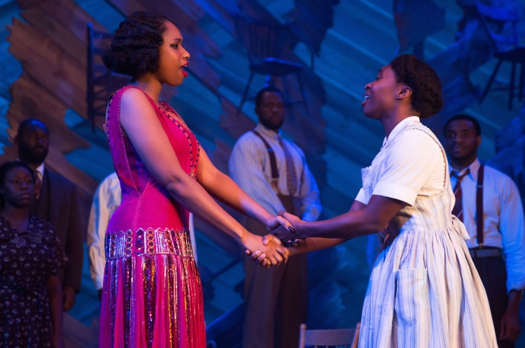 The Color Purple, Broadway, Cynthia Erivo, Jennifer Hudson