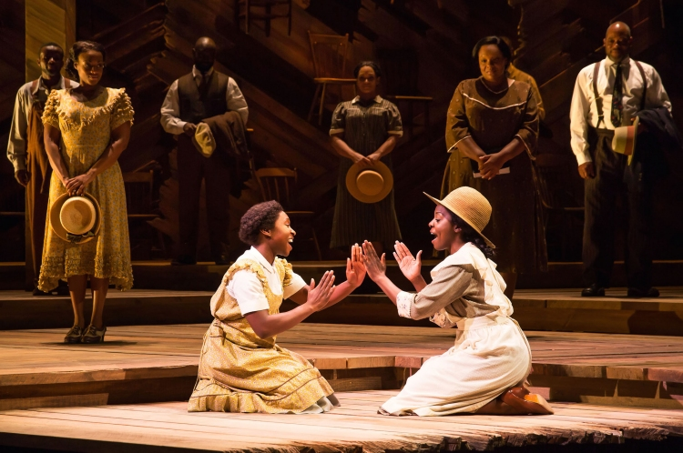 The Color Purple, Broadway, Cynthia Erivo,Joaquin Akalukango