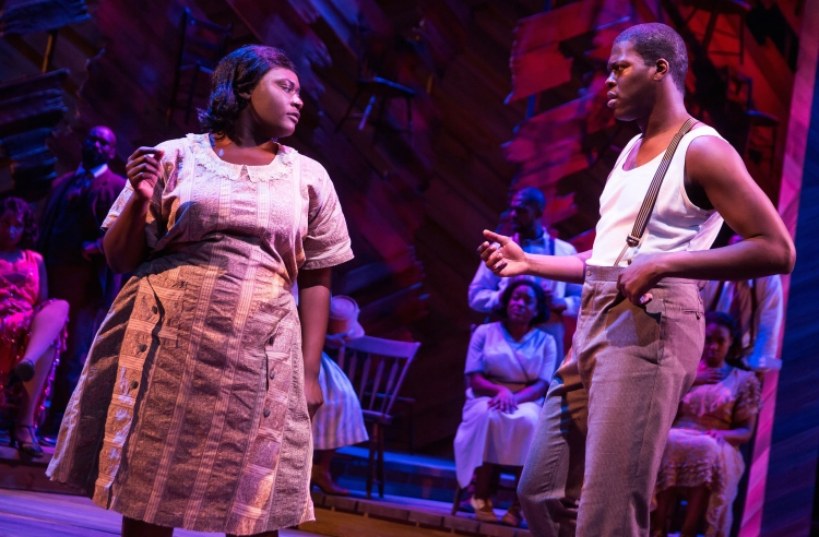 The Color Purple, Broadway, Danielle Brooks, Kyle Scatliffe
