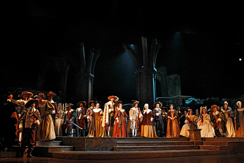 Victorian Opera 2016 Lucia di Lammermoor, Victorian Opera Chorus