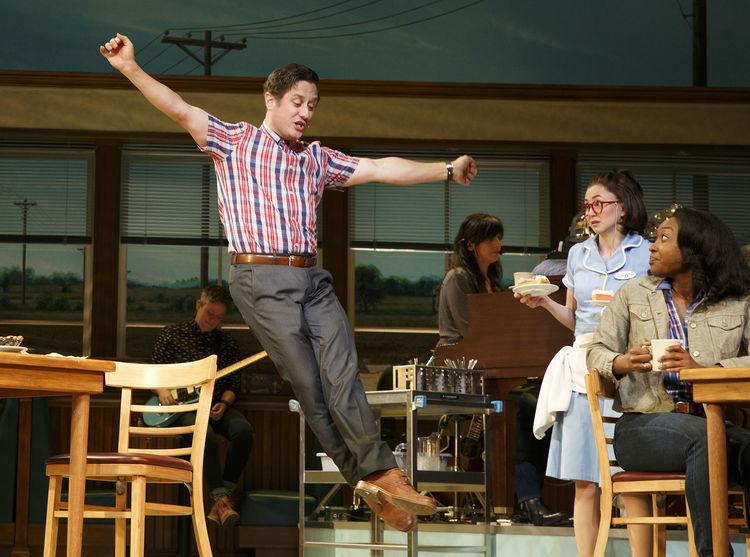 Waitress musical, Broadway, Christopher Fitzgerald, Kimiko Glenn