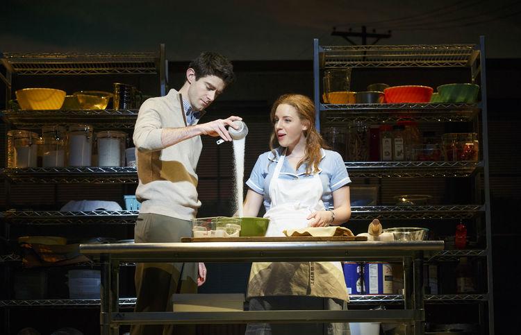 Waitress musical, Broadway, Drew Gehling, Jessie Mueller