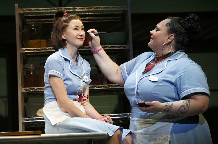 Waitress musical, Broadway, Kimiko Glenn, Keala Settle