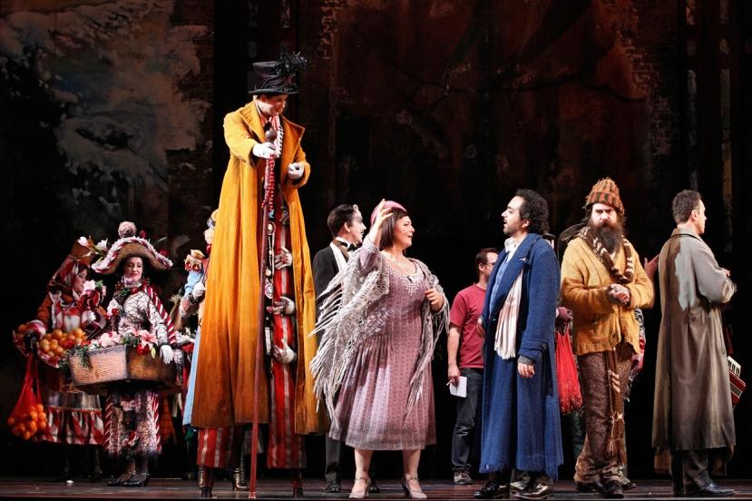 La Boheme 2016 Opera Australia, Haroutounian, Terranova, Anderson, Jones