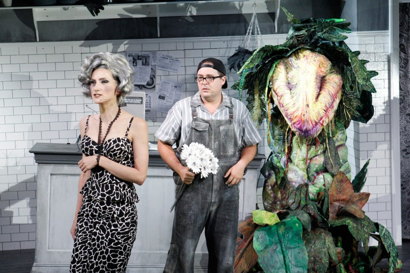 LITTLE SHOP OF HORRORS 2016 Esther-Hannaford,-Brent-Hill,-Audrey II